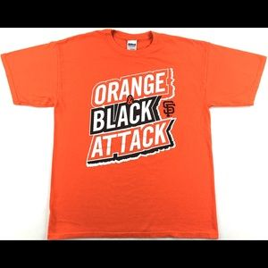 MLB San Francisco Giants 'Orange & Black Attack'
